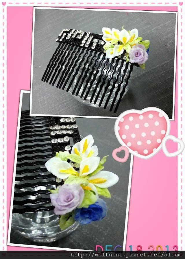 「美甲就業班」第九天-3D立體粉雕 海芋與玫瑰花