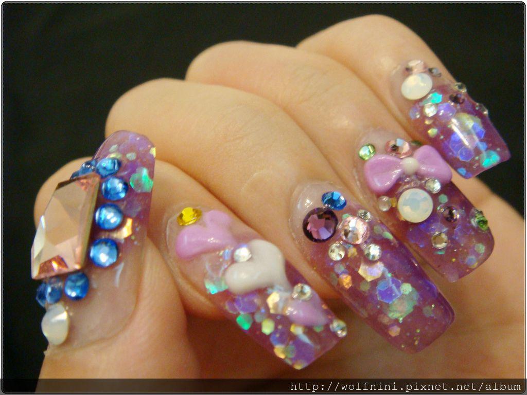 水晶指甲初體驗