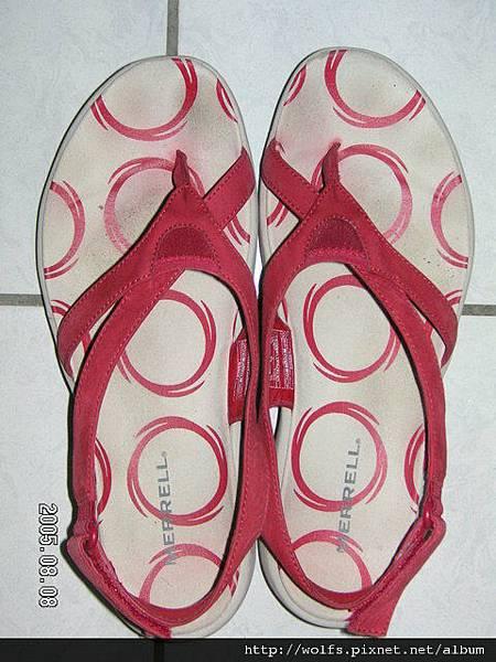 戰利品-Merrel運動涼鞋
