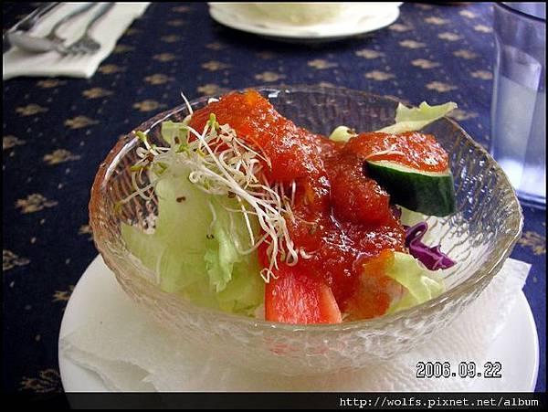 柳橙蘿蔔醬沙拉