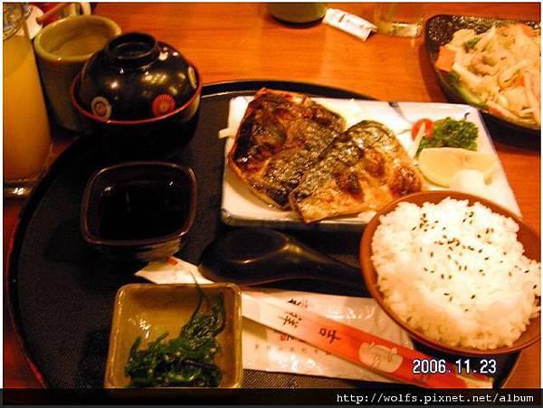 14-烤鯖魚定食(全)