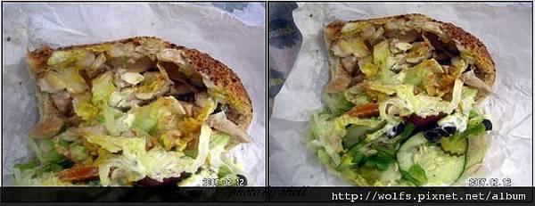 03-火烤三雞(煙燻)+奧立岡巴馬乾酪麵包