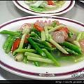 09-蘆筍蝦仁 $120
