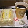 02-三明治早餐 $180