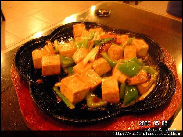 05-鐵板豆腐 $180