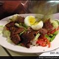 15-烤牛肉沙拉 $220