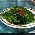 09-燙青菜(中) $30