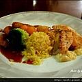 11-主菜-香芒鮭魚飯