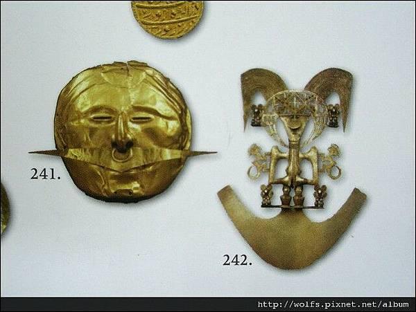 14-黃金面具&黃金人形胸飾
