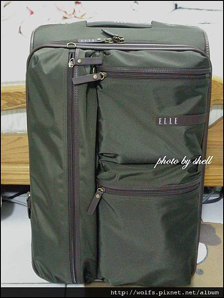 13-ELLE 行李箱 HKD5XX