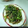 DSCN0272-空心菜牛肉