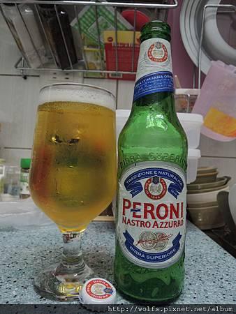 DSCN2045-沛羅尼啤酒(Peroni )