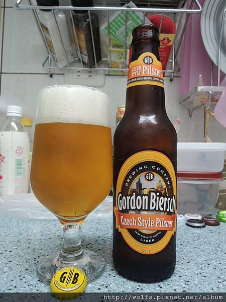 DSCN2194-美國GB鮮釀皮爾森啤酒