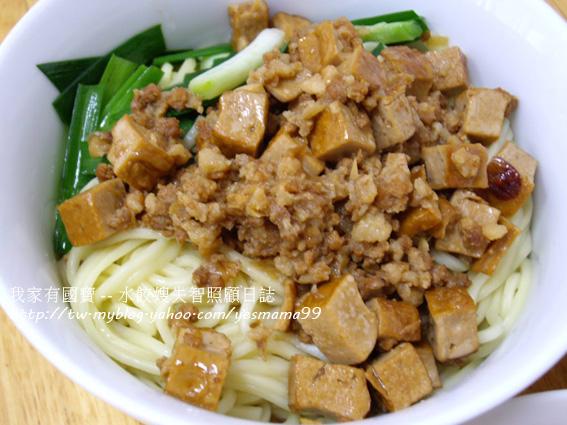 台灣味滷肉汁拌麵拌米粉拌番薯葉