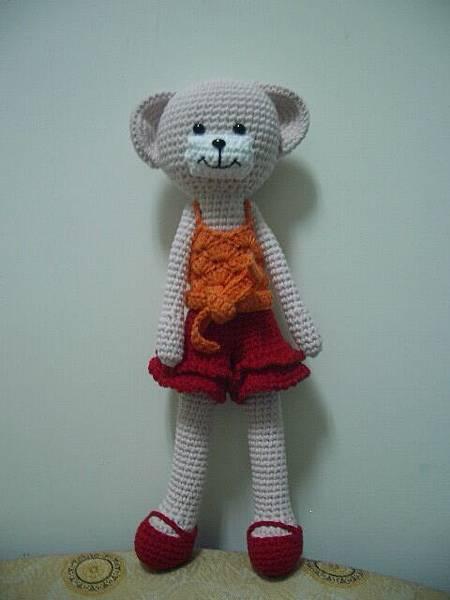 小熊可是熊界的林志玲哦!