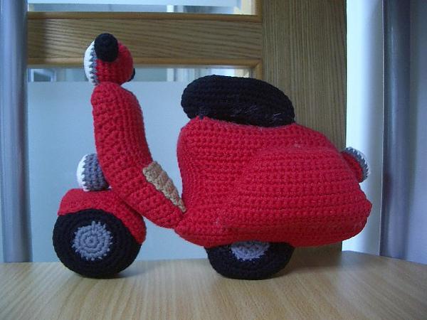 我的速可達摩托車