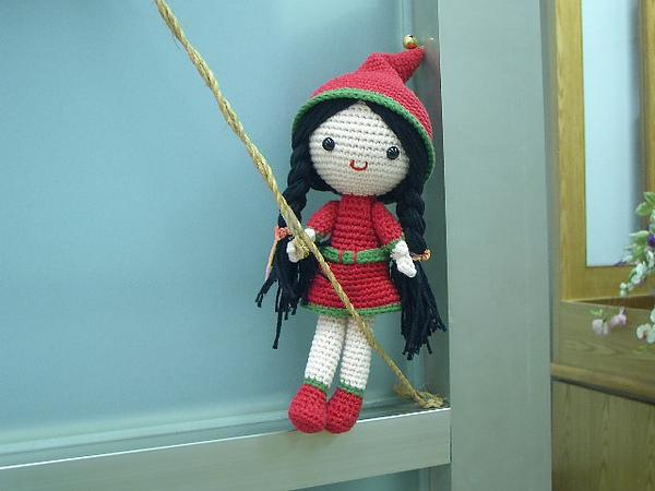 聖誕裝女孩~我不是小紅帽,你一定是看錯了。