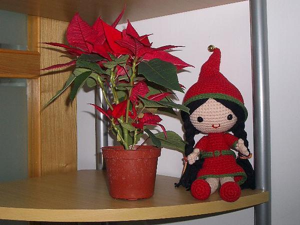 聖誕裝女孩~祝大家聖誕節快樂。