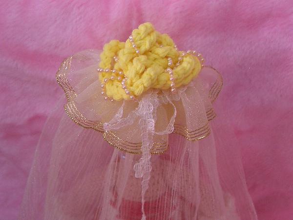 新娘~頭紗細部照。