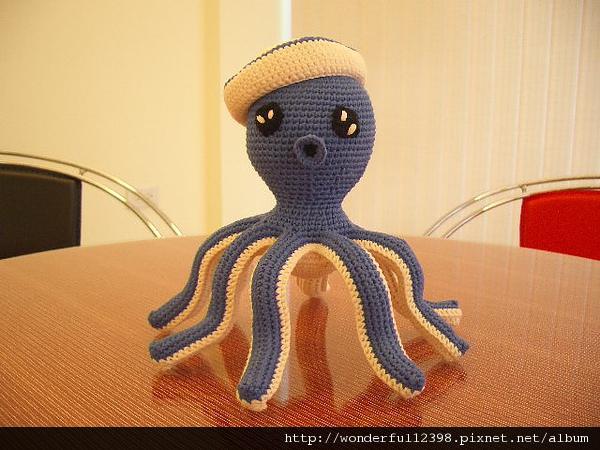 海軍風章魚哥