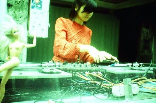 林欣儀 CAMPO DJing (攝影 鍾偉杰)