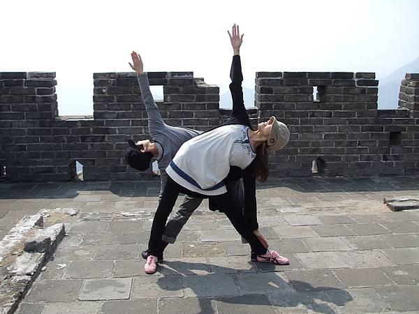 長城瑜珈課開始!