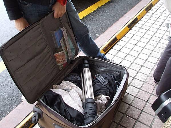 肚皮的行李