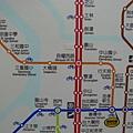 蘆洲線線路圖
