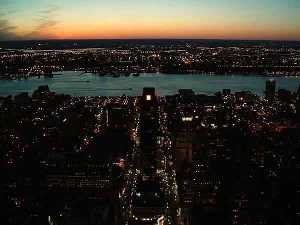 紐約的黃昏