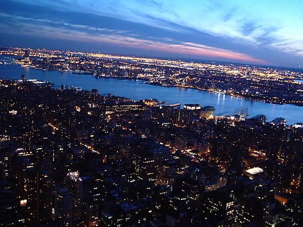 紐約的夜色