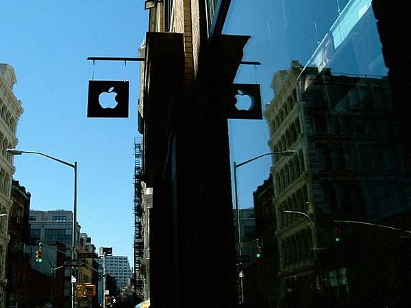 SOHO的apple store