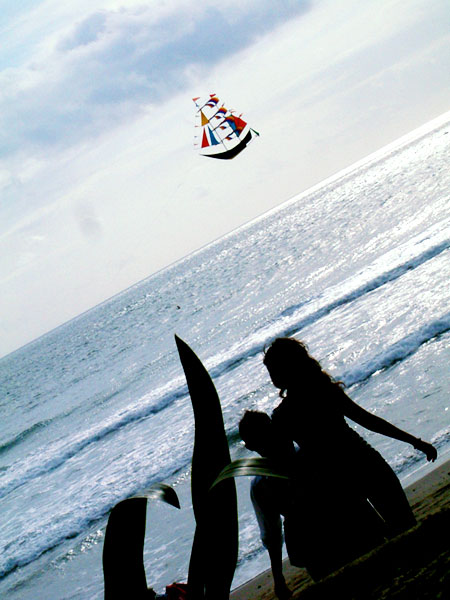 飛船其實是風箏