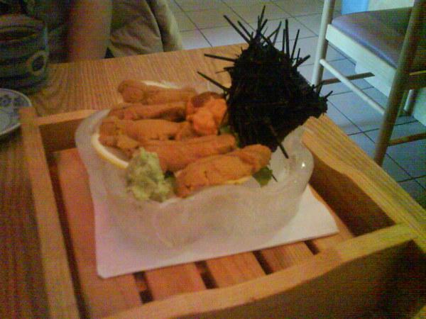 壽司青木 / 海膽Sashimi