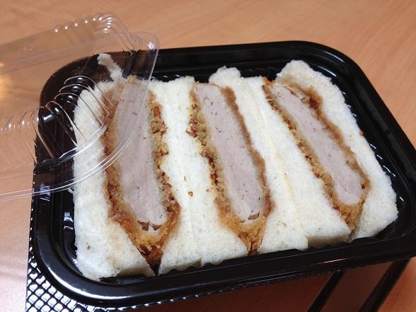 勝博殿 豬排三明治