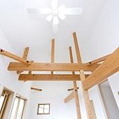 天花板-露樑