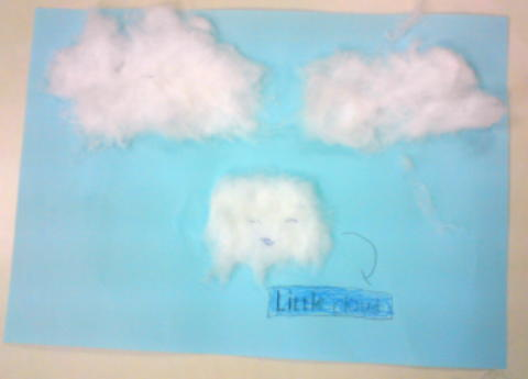 Robot's Little Cloud