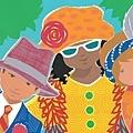 Illustration from Ella Sarah Gets Dressed by Margaret Chodos-Irvine