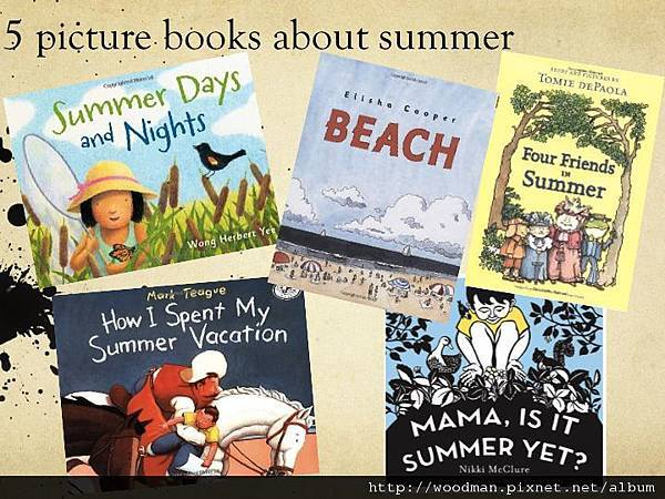 5 picture books about summer