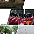 Tower of London, London Eye, Buckingham Palace