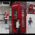 London bus, telephone box, Royal Horse Guard