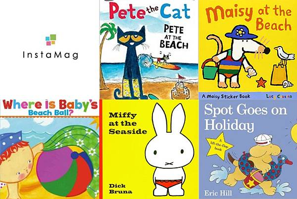picture books about beach