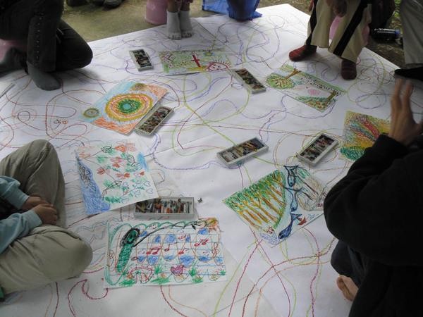 淨食營的藝術課程