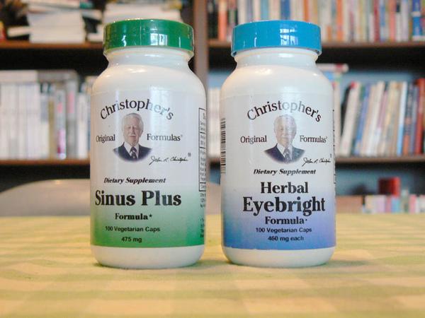 幫助眼睛的藥草配方