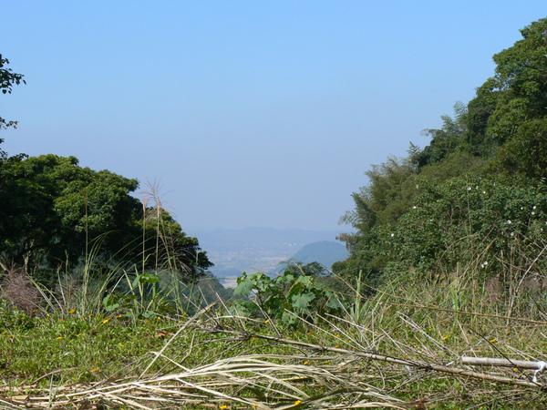 南庄山上沿中港溪遠眺三灣、頭份、竹南三鎮之二