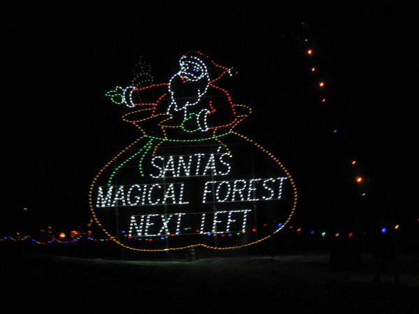 santa's magical forest