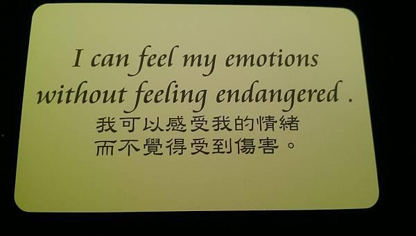 我可以感受到我的情緒