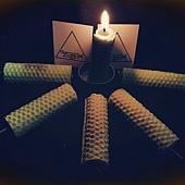 聖燭節豐盛蠟燭2