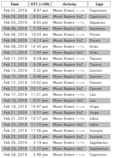 2019 2月月空