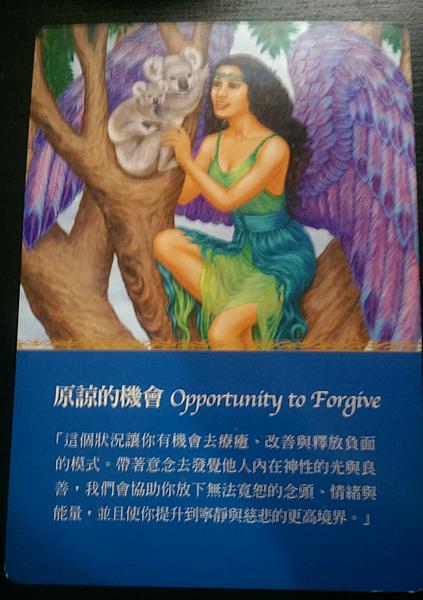 原諒的機會