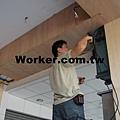 電視網路線監視器施工